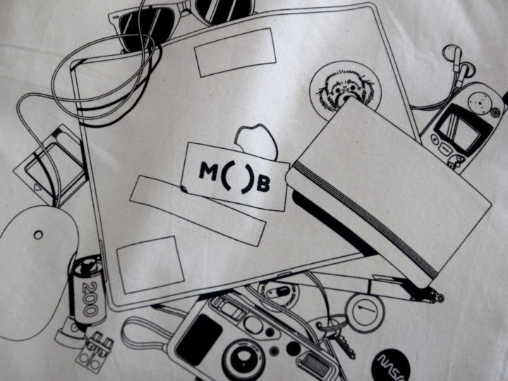 Screen Printing MOB Tote Bags