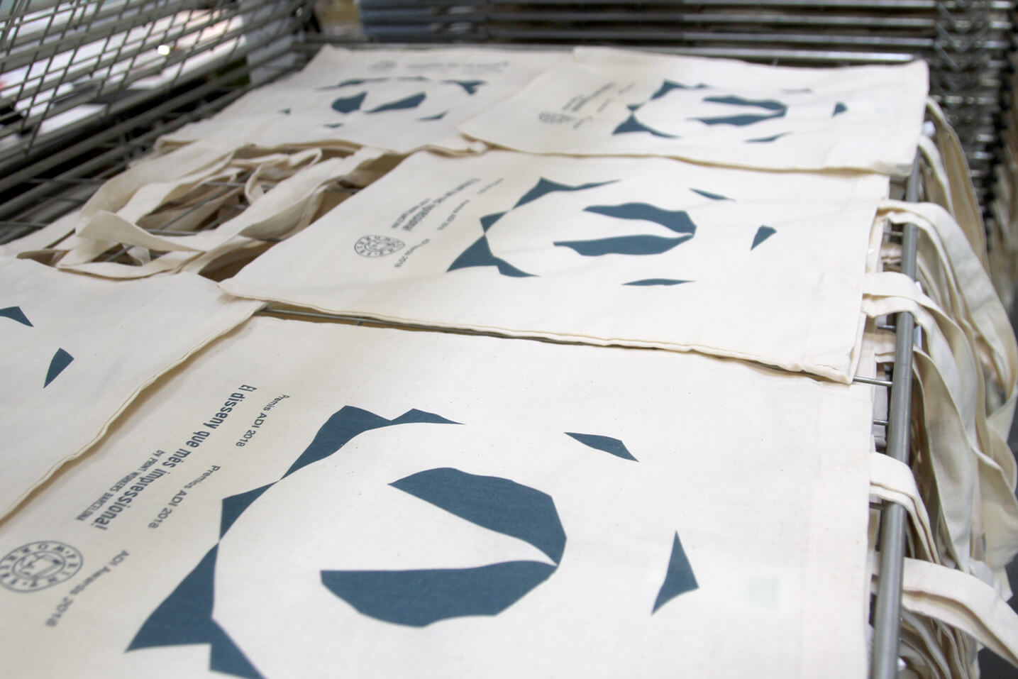 Screen Printing FAD Tote Bags